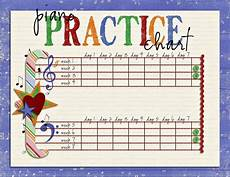 Practice Charts For Music Students Practicing S Music Studio