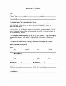 Contract For Selling A Car Contract Template For Selling A Car Privately