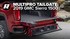 2019 gmc new tailgate multipro tailgate in the 2019 gmc 1500