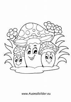 Malvorlagen Herbst Pilze Ausmalbilder Verschiedene Pilze Herbst Malvorlagen