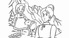 heidi free coloring pages