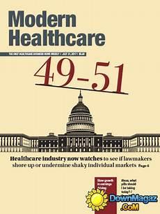 Modern Healthcare Modern Healthcare 31 07 2017 187 Download Pdf Magazines