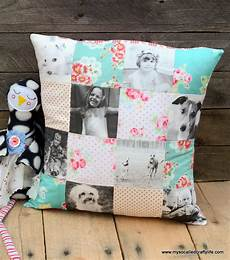 handmade gifts 2014 custom photo patchwork pillow my so