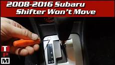 2016 Forester Brake Light Switch Subaru Shifter Stuck In Park Bypass And Repair Tips