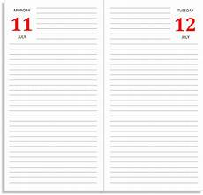 Free Daily Diary Template My Life All In One Place The Daily Diary Midori Insert