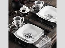 Amazon.com   Corelle Square 16 Piece Dinnerware Set