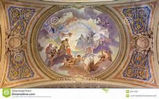 fresco baroque venice ceiling restored fresco in baroque church