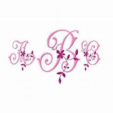 monogram 57 embroidery font annthegran