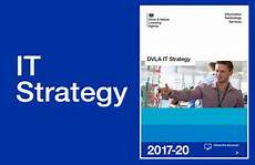 It Strategy Dvla Publishes New It Strategy Gov Uk