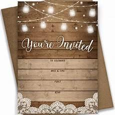 bridal shower invitation template rustic printable rustic bridal shower invitations amazon com