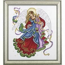 Christmas Angel Designs Christmas Angel Cross Stitch Needlepoint Stitchery