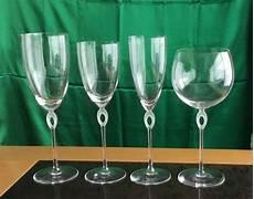 bicchieri rosenthal serie unica di 28 bicchieri rosenthal e 1 caraffa tipo