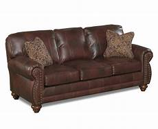 Nailhead Trim Sofa 3d Image by 15 Photos Brown Leather Sofas With Nailhead Trim