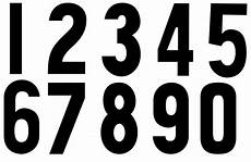 Fonts For Numbers Numbers Dr Odd