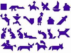 Tangram Kinder Malvorlagen Kostenlos Kreative Mathematik Tangram Www Eichendorffschule Moers De
