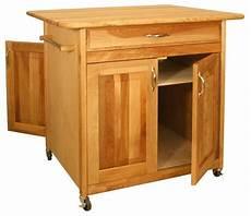 wheeled kitchen cart w 4 doors drawer the