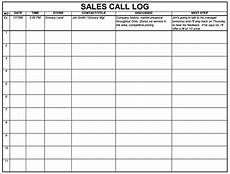 Sales Log Template 5 Sales Log Templates Formats Examples In Word Excel