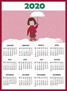 2020 Calendar With Printable Calendar For 2020 Blank Agenda Calendar Shelter