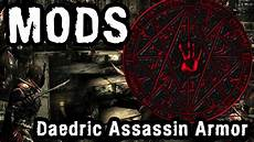 Daedric Assassin Light Armor Skyrim Mod Daedric Assassin Light Armour Youtube