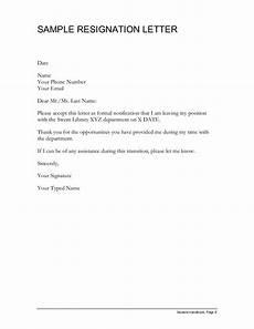 Resign Later Sample Resignation Letter Simple Resignation Letter