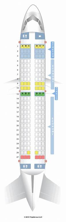 Airbus A320 214 Seating Chart Seatguru Seat Map Frontier Airbus A319 319 V1