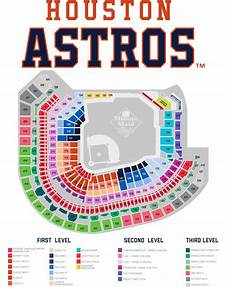 Astros Seating Chart With Rows Astros Season Ticket Information Seating Map Houston
