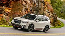 the 2019 subaru forester 2019 subaru forester drive review automobile magazine