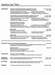 Examples Of College Resume College Resume Example Sample Business And Marketing