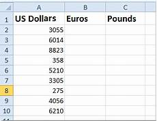 Euro Conversion Chart How To Quickly Convert Between Dollars Pounds Euros In