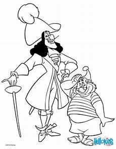 Captain Hook Malvorlagen Mr Smee Und Captain Hook Zum Ausmalen Malvor