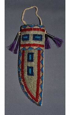 beadwork sioux antique sioux knife sheath just look at all that bead