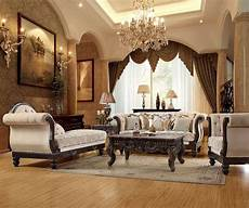 Living Room Luxurious Traditional Style Formal Living Room Furniture