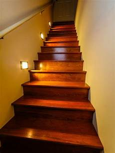 Led Lights For Stairs Led Staircase Accent Lighting