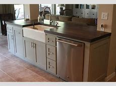 Small Kitchen Island with Sink and Dishwasher   Building a kitchen, Kitchen island with sink