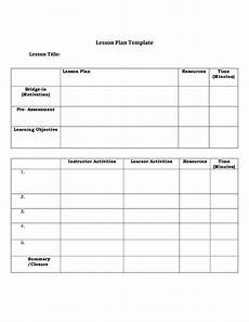 Cps Lesson Plan Template 44 Free Lesson Plan Templates Common Core Preschool Weekly