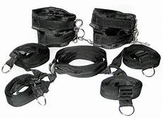 the bed restraint system intimate desires