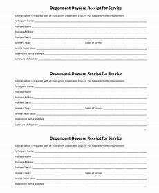 Day Care Receipts Free 11 Daycare Receipt Samples And Templates In Pdf Ms
