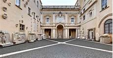 il cortile roma courtyard musei capitolini
