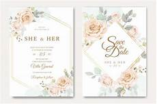 Weds Card Format Beautiful Wedding Invitation Card Template With White And