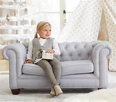 chesterfield mini sofa pottery barn