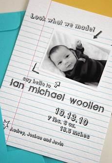 Baby Boy Birth Announcement Ideas Adorable Birth Announcement Ideas