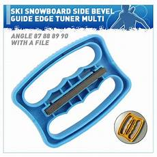 Ski Edge Bevel Chart Ski Snowboard Side Bevel Guide Edge Tuner Multi Angle 87