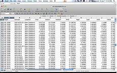 Sample Excel Spreadsheet With Data Excel For Geochemistry Runs With Rocks