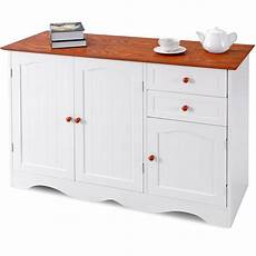 gymax buffet storage cabinet console table kitchen