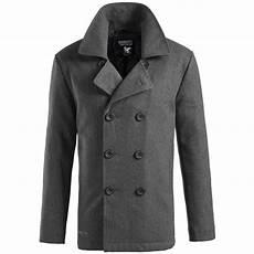 pea coats for surplus classic navy pea coat warm mens winter wool reefer