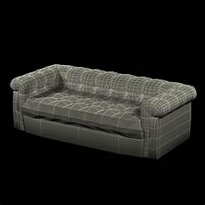 6ft Sofa 3d Image by Edward Wormley Dunbar Six Foot Tufted Leather Sofa 3d