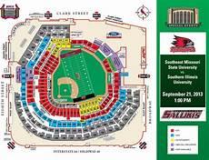 Cardinals Football Stadium Seating Chart Football At Busch Stadium St Louis Cardinals