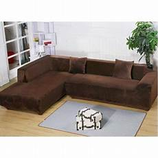 L Shaped Sectional Sofa Covers 3d Image by Ktaxon 2018 L Shape Stretch Elastic Fabric Sofa Cover