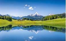 Nature Summer 4k Wallpaper by Wallpaper Summer Mountains Lake Alps 4k Nature 5352