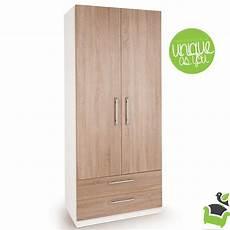 connect euston 2 door wardrobe with drawers oak bedroom
